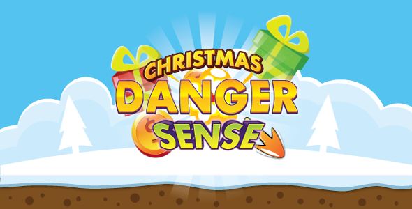Danger sense: christmas - HTML5 + mobile. Construct2 (.capx) + AdMob - CodeCanyon Item for Sale