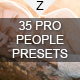 35 Pro People Presets - GraphicRiver Item for Sale