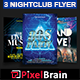 Night Club Party Flyer Template Bundle Vol - 07 - GraphicRiver Item for Sale