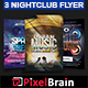 Night Club Party Flyer Template Bundle Vol - 08 - GraphicRiver Item for Sale