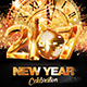 New Year Party 2017 - GraphicRiver Item for Sale
