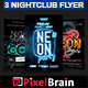 Night Club Party Flyer Template Bundle Vol - 09 - GraphicRiver Item for Sale