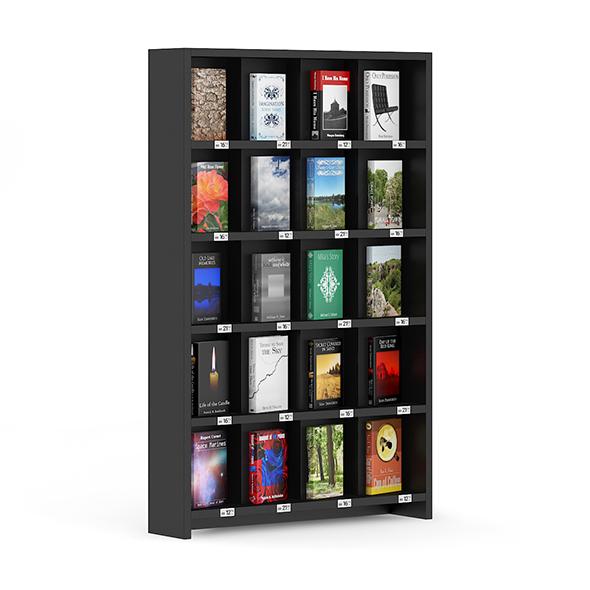 Bookstore Shelf - 3DOcean Item for Sale
