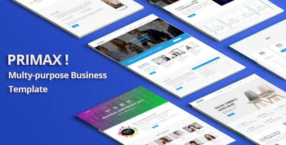 PRIMAX! – Responsive Multi-purpose Joomla Template