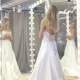 The Bride Fitting Wedding Dress in the Boutique - VideoHive Item for Sale