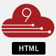 9Hosts.NET-Web Hosting Domain Technology Responsive HTML Template