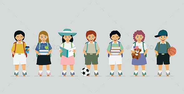 Schoolboy - People Characters