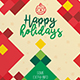 Modern Minimal Christmas Flyer - GraphicRiver Item for Sale