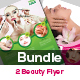 Spa & Beauty Saloon Flyer Bundle
