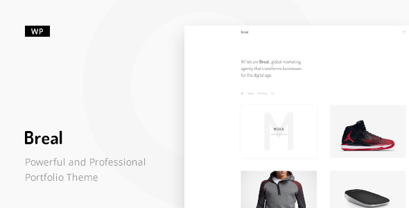 Breal - Minimal WordPress Theme