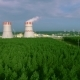 Nuclear Power Station Aerial View - VideoHive Item for Sale