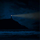 Lighthouse On Coast At Night - VideoHive Item for Sale