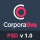 Corporativa - Onepage Corporate & Business PSD Template - ThemeForest Item for Sale