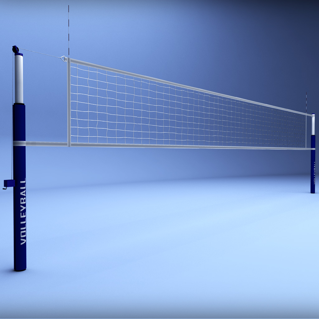 Volleyball Net Low Poly By Kr3atura 3docean
