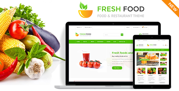 Fresh Food - Specific Prestashop Theme for Food & Restaurant Stores