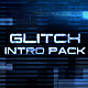 Glitch Intro Pack - VideoHive Item for Sale