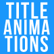 Title Animations - VideoHive Item for Sale