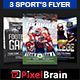 Sport Event Party Flyer Template Bundle Vol - 03 - GraphicRiver Item for Sale