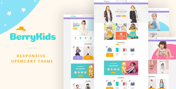 Lexus Berrykid - Kid shop Opencart theme