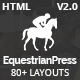 EquestrianPress | Equestrian & Horse Riding Training Responsive HTML5 Template Nulled