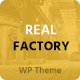 Real Factory - Factory / Industrial / Construction WordPress Theme Nulled