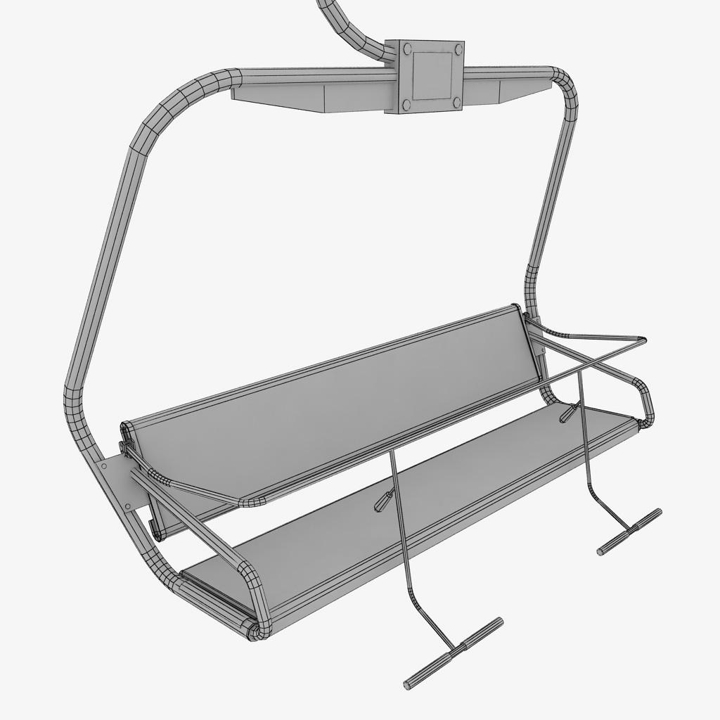 ... Ski Lift Chair 11 ...