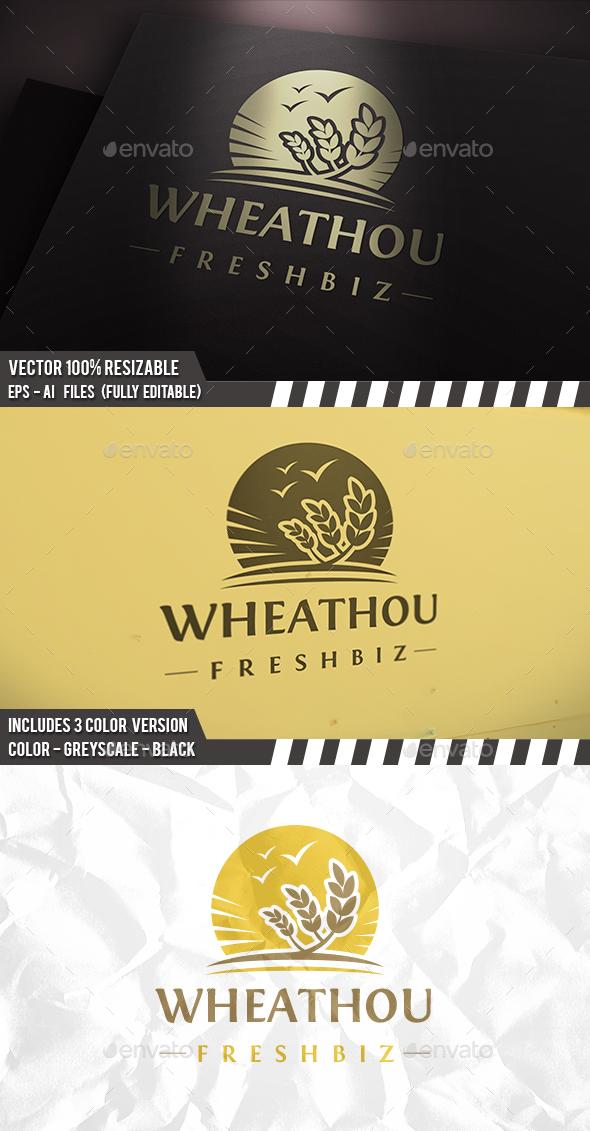 Wheat - Nature Logo Templates