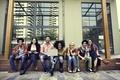 College Students Teamwork Brainstorming Concept - PhotoDune Item for Sale