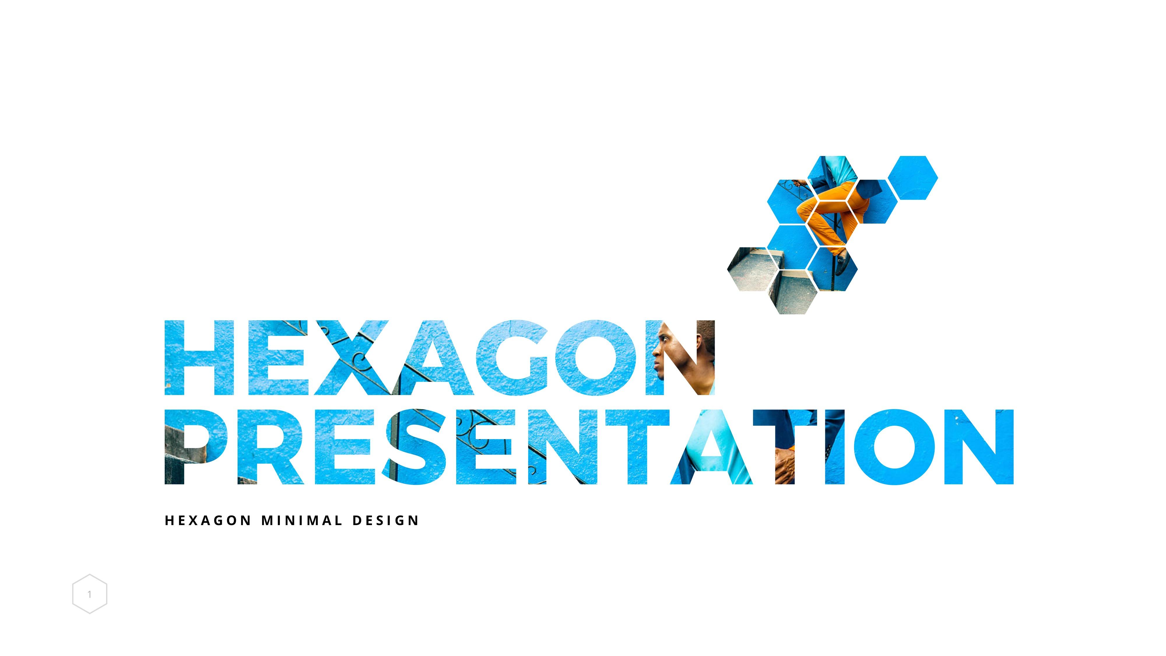 Hexagon Powerpoint Template By Markzugelberg Graphicriver