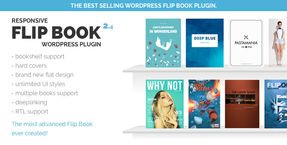 Responsive FlipBook Plugin - CodeCanyon Item for Sale