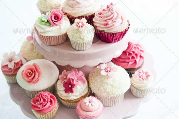 Cupcake selection - Stock Photo - Images
