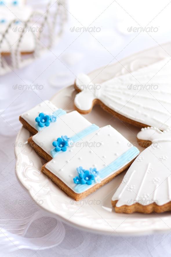 Wedding cookies - Stock Photo - Images
