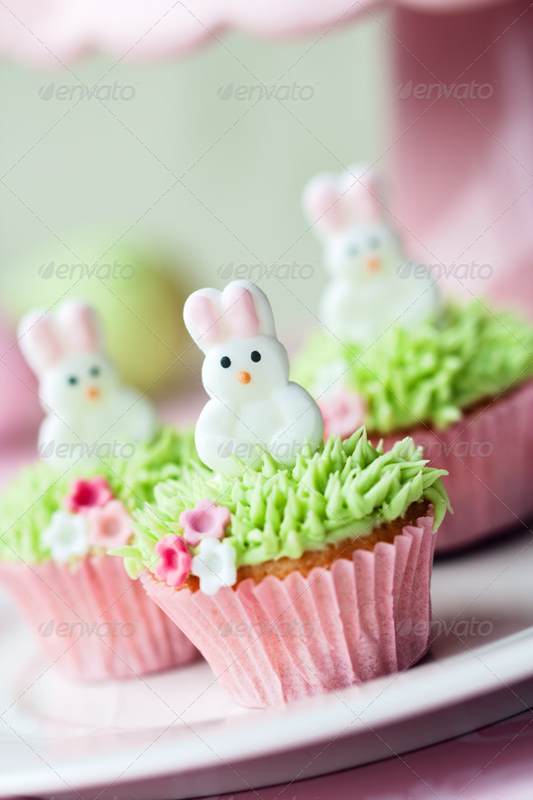 Easter cupcakes - Stock Photo - Images