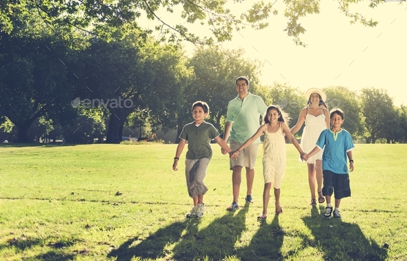Family Leisure Activity Happiness Bonding Concept - Stock Photo - Images