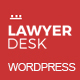 LawyerDesk - Multipage Lawyer and Attorney Responsive Theme - ThemeForest Item for Sale