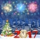 Christmas Winter Cityscape - GraphicRiver Item for Sale