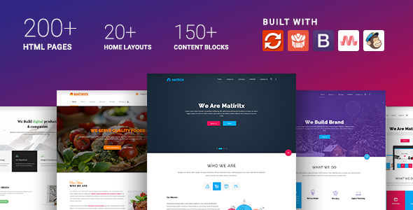 Materialize - Material Design Based Multipurpose HTML Template - Business Corporate