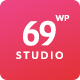 SixtyNineStudio - Creative Agency WordPress Theme Nulled