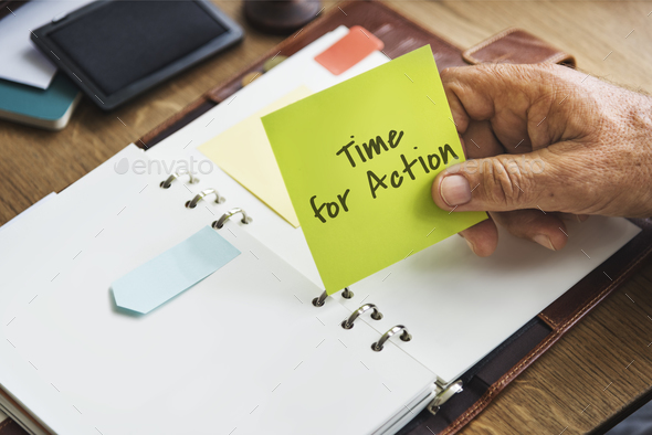 Time For Action Change Concept - Stock Photo - Images