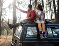 Backpacker Couple Travel Adventure Happiness Concept - PhotoDune Item for Sale