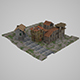 Low Poly Medieval Towns - 3DOcean Item for Sale