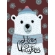 Christmas Illustration with Polar Bear - GraphicRiver Item for Sale