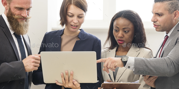 Business Team Working Research Planning Concept - Stock Photo - Images