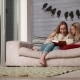 Young Mother Reading a Book To Her Cute Daughter - VideoHive Item for Sale