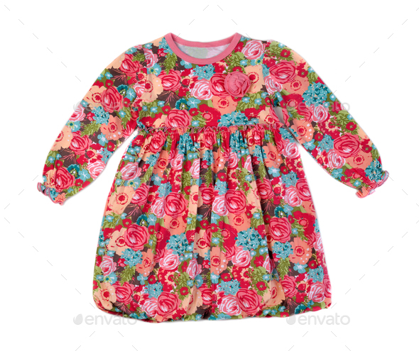 child color dress - Stock Photo - Images