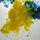 Ink in Water Yellow Blue - VideoHive Item for Sale