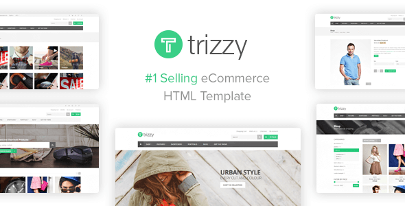 Trizzy – Multi-Purpose eCommerce Shop HTML Template