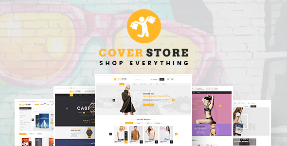 Cover Shop – WooCommerce WordPress Theme
