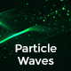 Particle Waves Backgrounds - GraphicRiver Item for Sale