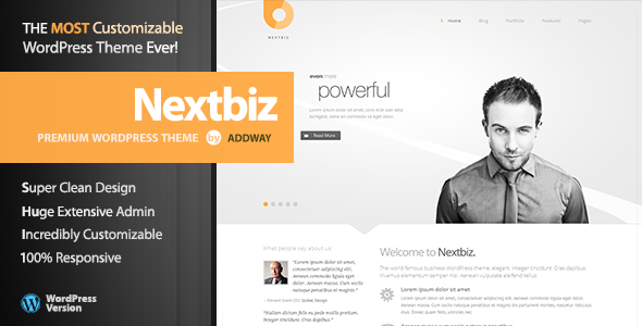 Nextbiz - Responsive Multi-Purpose WordPress Theme - Business Corporate